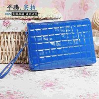 Wholesale The new X4849 Shopping Bag Wallet Zipper hand bag lady handbag handbags female mobile phone leather