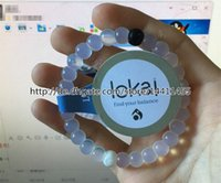 Wholesale Lokai Bracelet Original Tag and Individual Bag Mud from Dead Sea Water from Mount Everest lookai Silicone Find Your Balance