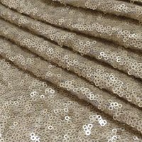 sequin fabric - Hot Selling mm Sequins Matte Gold Sequin Fabric For Dress Making Garment Decoration Sequin Material Fabrics