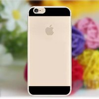 Cheap For Iphone 6 4.7inch Multicolor Ultra Thin 0.5MM Super Flexible Soft Silicon Gel Back Cover For Iphone 6 Plus 5.5inch Phone Shell TPU Case