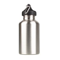 stainless steel water bottle - New ml Outdoor Sports Stainless Steel Bottle Wide Mouth Drinking Water Bottle for Camping Cycling Y0525