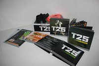 Wholesale T DVD Shaun T s Crazy Potent Slimming Training Sets Home Body Fitness Videos DVDs Workout with All Book Guide and Pull Rope