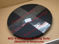 Wholesale 100Meters MXL open timing belt Width quot mm picth mm Neoprene with fiberglass core