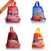 backpack handbags sale - Hot Sale New Arrival Cars Story kids Cartoon Drawstring Backpack Bag Kids Handbags Children s Backpacks Non woven kids love