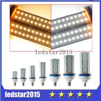 Wholesale 2015 LED Light Patch Corn Lamp SMD Corn Bulb E40 E27 W W W W W W W Led Corn Light Angle Led Lamp Corn Bulb Lighting