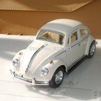diecast models - Pull Back Car Toys Volkswagen Vw Classic Beetle Bug White Diecast Metal Car Model Toy For Children Gift