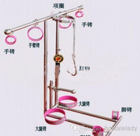 high quality sex toys - High quality Stainless steel adjustable detachable fixed suppository high grade kneeling frame Novelty fun female sex game toy