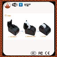 Wholesale High speed black USB Port mm thermal Receipt pirnter POS printer low noise mini printer printer thermal