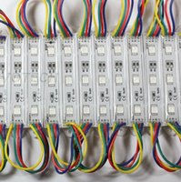 High Power Led Pixel Módulos Módulos impermeable RGB 12V 3 LED 5050SMD 0.72W módulos Led 80LM RGB Led de luz de fondo Para Channer Cartas