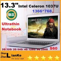 Wholesale DHLFREE inch laptop computer intel Celeron U GHZ Dual Core GB GB windows camera laptop notebook Resolution HDMI
