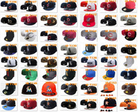 baseball photos - cheap All Fitted Closed embroidery Baseball Cap Hat Place Order Please Note ID choose on ID See Photo
