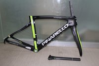 cadre velo carbone - 18 different colors full carbon fiber road bike frame F bicycle frame with seatpost fork clamp headset velo cadre carbone