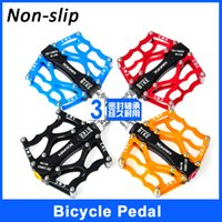 Aluminum Alloy alloy bmx pedals - MTB Pedals Aluminum Alloy Cycling Sealed Bearing Non slip Rivet Ultralight Mountain Bike Pedals Bike Parts