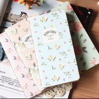 beautiful planner - Jasmine Flower series Mini notebook Retro beautiful flower printed diary Vintage Printed planner gift No