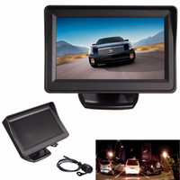 night view - 4 Inch TFT LCD Screen Car Auto Rear View Monitor Waterproof Night Vision Reverse Camera CMO_518