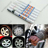 Wholesale car styling Tyre Permanent Paint Pen Tire Metal Outdoor Marking Ink Marker Creative car stick