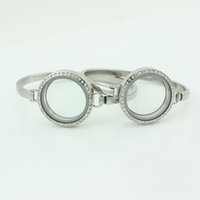 Cheap Floating Locket Bangle Best Stainless Steel Floating Locket Bangle