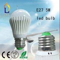 SMD bubbles - Fedex smd5730 led pc w LED bulb Bubble Ball Bulb AC85 V E27 cool white