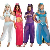 indian clothes - Halloween queen of Latin belly dance clothes indian dance female cosplay costume ds