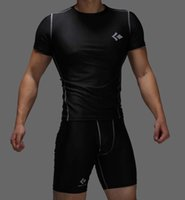 Wholesale UA CODY LUNDIN MEN S PRO Heatgear Fitted Gym Training Squeeze COMPRESSION Base layer Short Sleeve Shirts Size M XXL
