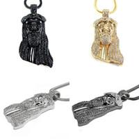 black jesus - hot sale New Fashion Hip Hop JESUS Christ Piece Pendant Necklace color Men Jewelry