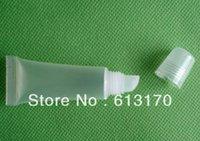 al por mayor contenedores de empuje-El tubo suave cosméticos del tubo de la manguera del lustre del labio 10ml empuja en el tipo manguera plástica de la mantequilla del envase el envío libre