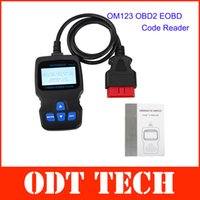 Wholesale New Arrival OM123 OBD2 EOBD CAN Hand held Engine Code Reader Multi Language Easy to Use