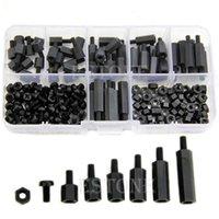 Wholesale M3 Nylon Black Hex M F Spacers Screws Nuts Assorted Kit Standoff order lt no track