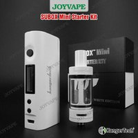Cheap Single kanger subox mini starter kit Best White Glass subox mini kit