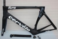cadre velo carbone - 2015 Newest cervelo S5 carbon frame road bike black white Full carbon bicycle frames cadres velo de carbone sell s5 r5 sl4 sl5 f8 frame