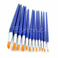 assorted brush pens - Assorted Size Fine Paint brushes For Great Art and Crafts