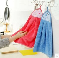 kitchen towels - kitchen to increase oil thickening hair cloth super absorbent towel wash towel towel A333