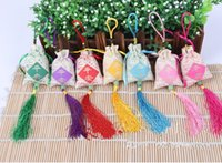 Wholesale sachets The perfume pouch will be Portable paperback Dried flower petals Mesh bags Archaize embroidery sachet embroidery Sachets