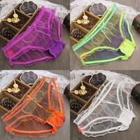 transparent panties - Sexy underwear women panties briefs transparent mesh panties for women mesh thongs Ventilat Women Fashion underwear briefs