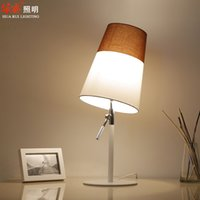 adjustable metal table - wrought iron art adjustable lamp holder table lamps fabric lampshade desk lights white salt color matching living room lamps night light