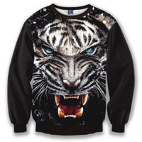 animal tigre - Autumn winter d sweatshirt Animal style Good quality pull tigre hoodies men sudaderas skt t1 brand clothing sweatshirt printing