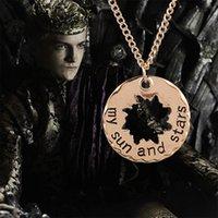 El juego de los colgantes de los pendientes de los tronos forma el colgante retro de los pendientes el sol de la estrella de la estrella de la luna el precio bajo de la fábrica vende al por mayor el estado libre DHL de la parte