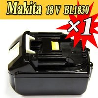 Wholesale 1 Pack x Makita V Ah Lithium battery for Makita BL1830 NEW order lt no track
