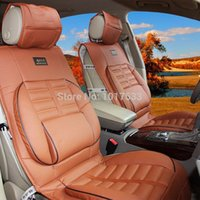 leather seat cover - Universal Fit Car Seat Cover PU Leather Car Seat Cushion Four Colors