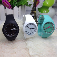 ice watches - Free DHL hot sale Han edition ICE silicone watches Geneva ultra slim gift silicone table Hot