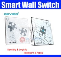 Wholesale Orvibo T020 S1 Smart Wall Switch m Wireless Remote Control Smart Home Intelligent Appliance puzzle OR RF T020 S1 Collection