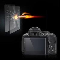 Оптово-Clear Оптический закаленное стекло ЖК-экрана панели фильма протектор 0.4mm HD защитообразующих водонепроницаемый чехол для Nikon D5500 камеры