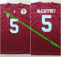 bowling games - Factory Outlet Rose Bowl Game Christian McCaffrey Stanford Cardinal Presented Northwestern Mutual NCAA College Football Stitched Jerseys
