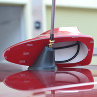 Wholesale Opel Astra Newest design special with blank radio shark fin antenna signal shark fin with M adhesive A3