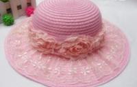 allure style - Creative Korea style sun hats women outdoor beach hats charming allure hats mixed pretty flower very nice hot sale