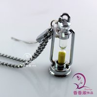 assorted rice - Hurricane Lamp Sandglass Cellphone Charms Assorted Sand Colors Name On Rice Vial Jewelry glass rice vials