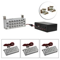 Wholesale 22LED X DC V LED Flashing Light Strobe Lamp for Car Using In Set Box with Control Panel CLT_323