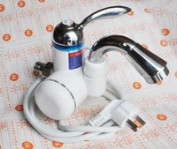 Wholesale 2014 brand new kw instant tankless v kw w c hot type electric heating faucet heated