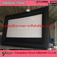 Wholesale Hot sale PVC tarpaulin inflatable billboard banner for advertising inflatable screen inflatable banner