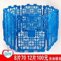 Wholesale 28 provincial shipping dog cage cat cage your pet dog fence Bin Taidi sized dog fence can be combined monolithic